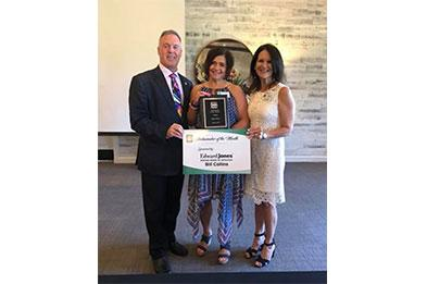 Flower Mound Chamber of Commerce Ambassador of the Month - August 2019
