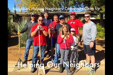 Neighbors Helping Neighbors - Community Clean Up